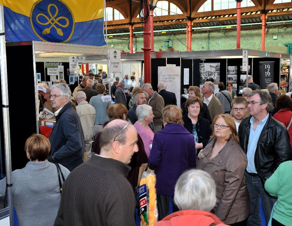 Back To Our Past show in the RDS.