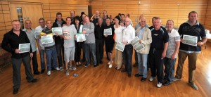 Presentation of Certificates - Men's Health & Wellbeing Programme