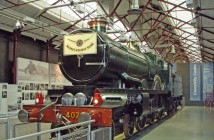 The most celebrated steam engine of all time, The Flying Scotsman