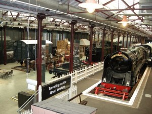 STEAM based in the old railway yards of Great Western Railways in Swindon, Wiltshire.
