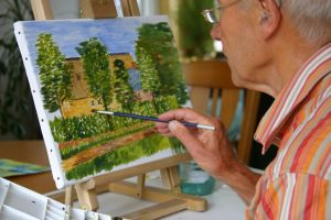 Hobbies in retirement