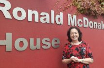Marian Carroll, Volunteer CEO with Ronald McDonald House Charity.