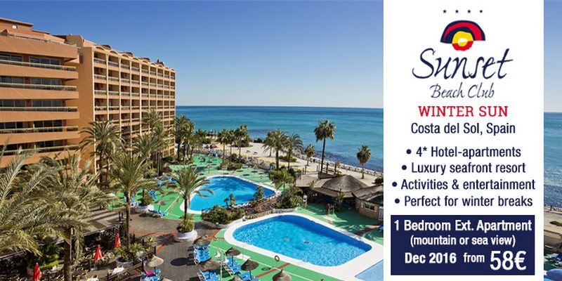 Sunset Beach Club Hotel For Your Winter