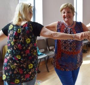 Participants in CoisCéim's Dance Classes for older people