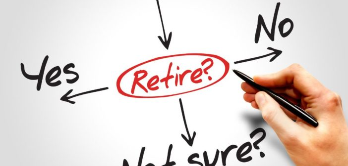 Making the decision about when to retire.