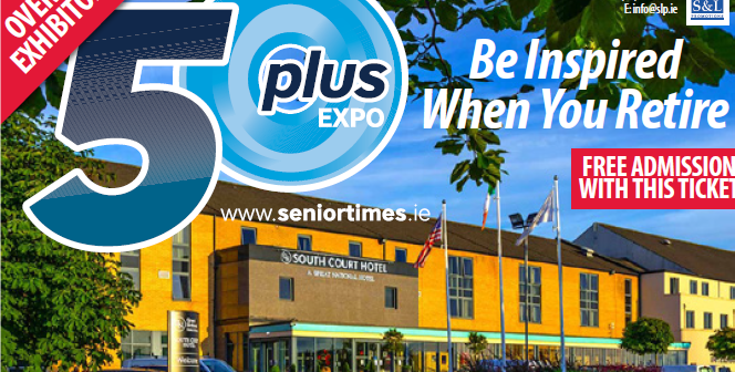 Register to attend the Limerick 50 Plus Expo  – 7th & 8th May, South Court Hotel
