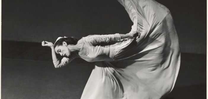 Barbara Morgan (1900-1992), The Dancers Martha Graham in Letter to the World, 1940