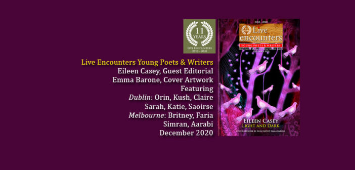 Live Encounters Young Poets & Writers December 2020 is out!