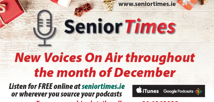 Relax and enjoy the latest SeniorTimes Podcast Series this Christmas