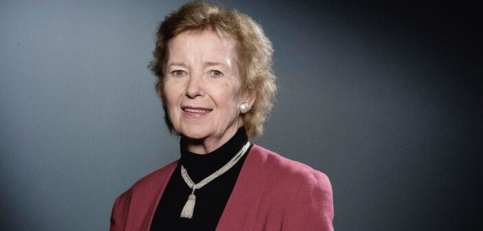 Charlie Bird meets Mary Robinson
