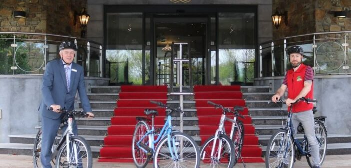 """""""On Your Bike"""" literally from The Rose Hotel!"""